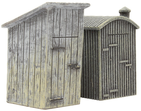Lineside lamp huts - pack of two