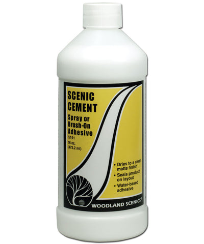 Scenic Cement - Spray or Brush On Adhesive