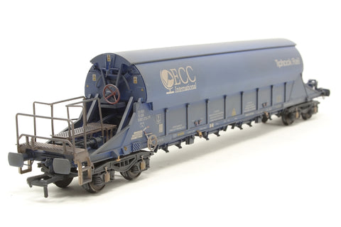 PGA Tiger Clay Wagon ECC 33 70 9382075 (weathered) Exclusive to Kernow Model Rail Centre