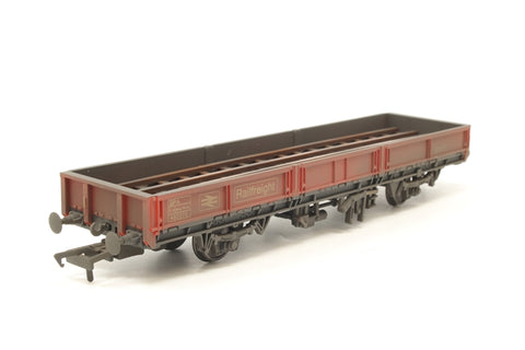SPA Open Wagon 460275 in BR Railfreight Red - weathered - Exclusive to Kernow Model Rail Centre - Pre-owned - Like new - Very good box