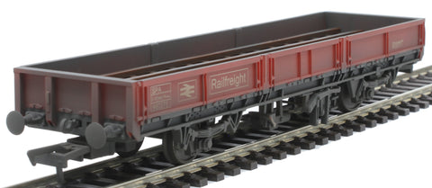 SPA Open Wagon 460275 in BR Railfreight Red - weathered - Exclusive to Kernow Model Rail Centre