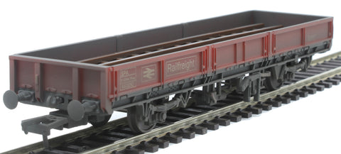 SPA Open Wagon 460890 in BR Railfreight Red - weathered - Exclusive to Kernow Model Rail Centre
