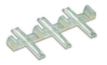 Insulated rail joiners/fishplates (for OO, HO & O gauge code 100 rails incl. Hornby, Peco & Peco Streamline) - Pack of 12