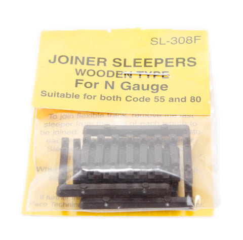 24 additional wooden sleepers