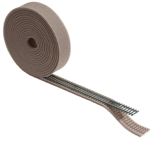 "Roll of foam track underlay with sleeper indentation. Suitable for Setrack and Streamline 5m long (16' 4"")"