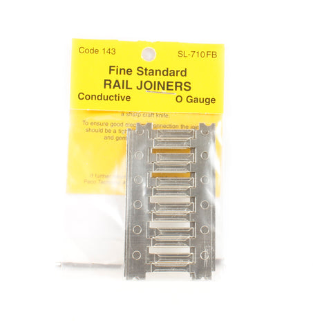 Finescale Metal Rail Joiners Code 143 Nickel Silver