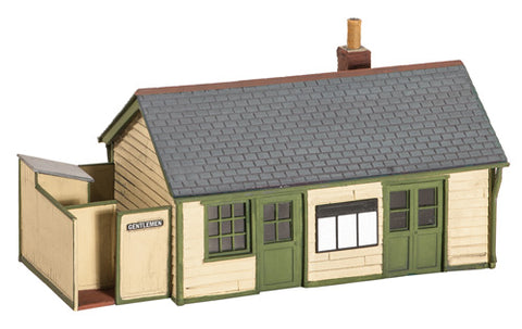 Wooden wayside station building - plastic kit