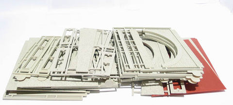 3 arch viaduct plastic kit