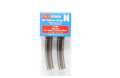ST-3 first radius standard curve - pack of eight