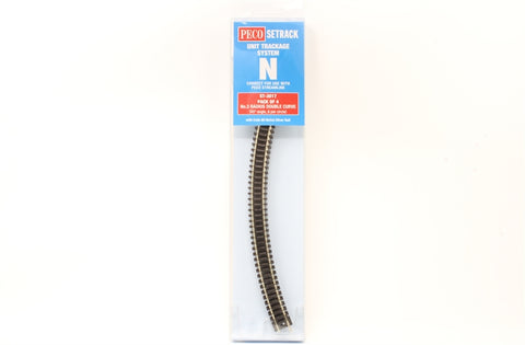 ST-17 third radius double curve - pack of four