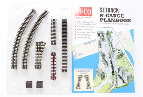 Setrack starter track pack - second radius