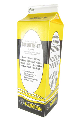 Foam Smooth-It Plaster-based Road System for use with ST1455. 1 Quart