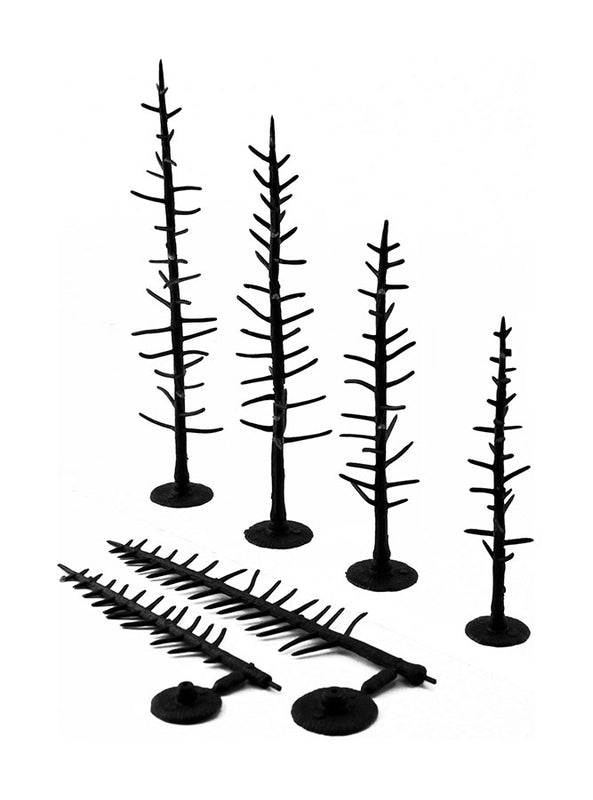 "2.5 - 4"" Pine - Tree Armatures - Pack Of 70"