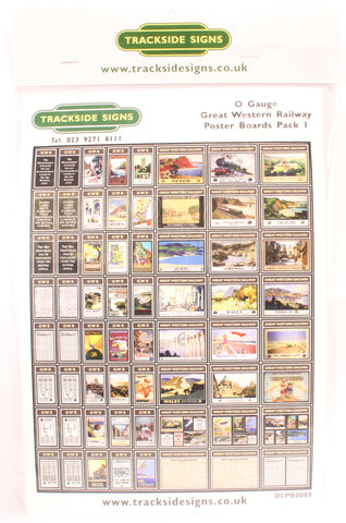 GWR poster boards pack