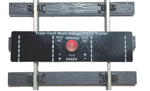 Multi gauge track tester - suitable for OO, HO, O and G trackwork