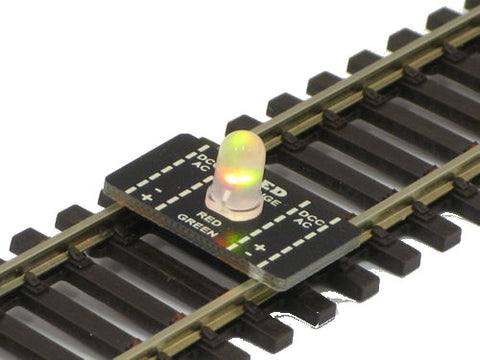 Track voltage tester for OO, HO, N and OO9 gauge track