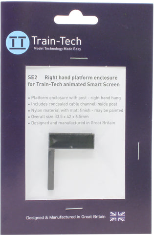 Smart Screen enclosure - mounted right hand post
