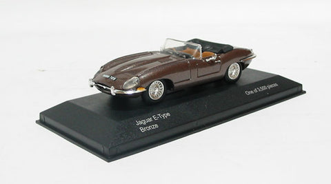 Jaguar E type convertable in bronze. Non limited