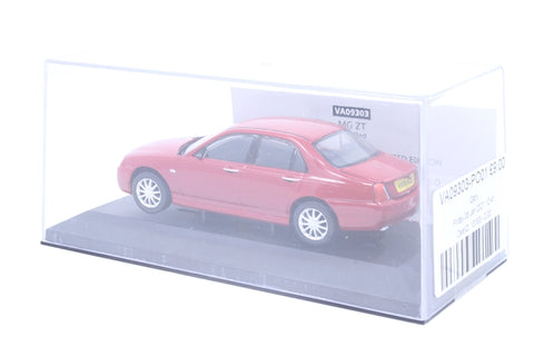 MG ZT solar red - Pre-owned - outer sleeve missing - fair box