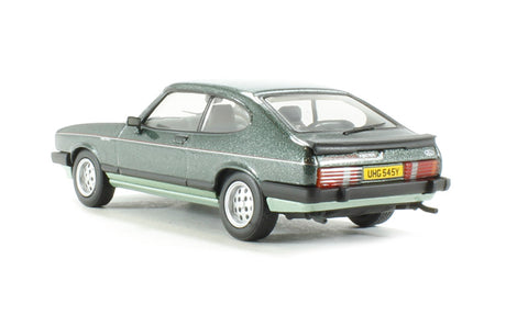 Ford Capri Mk3 2.8 injection, Forest Green and Crystal Green