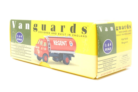 Bedford S Type Tanker - 'Regent' - Pre-owned - paint chips on cab - imperfect box