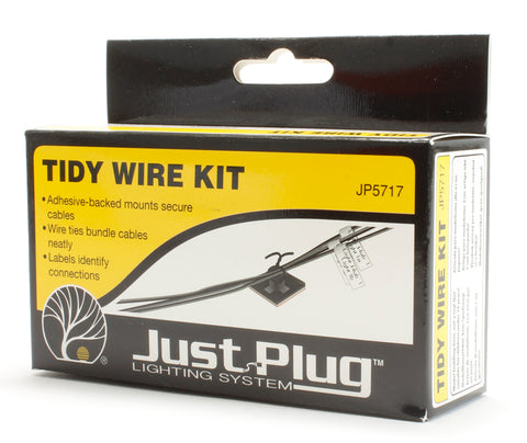 Tidy wire kit - Just Plug lighting system