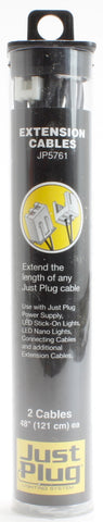 Extension cable for Just Plug lighting system
