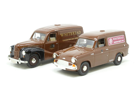 Whitbread Service Vans of the 50s and 60s - 2 Van set - Pre-owned -  imperfect box