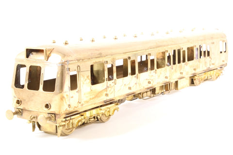 Class 122 'Bubblecar' DMU in Unpainted Brass - Pre-owned - Like new