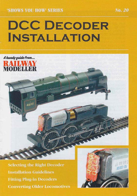 "Booklet - ""Shows You How"" Series - DCC Decoder Installation"