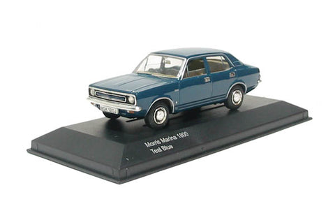 Morris Marina 1800 in teal blue. Non limited