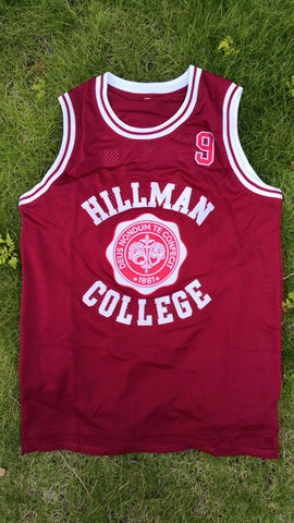 A DIFFERENT WORLD HILLMAN COLLEGE JERSEY RED