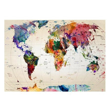 Load image into Gallery viewer, World Map Tapestry