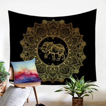 Load image into Gallery viewer, Indian Elephant Tapestry