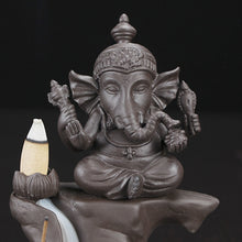 Load image into Gallery viewer, Ganesha Incense Holder for Cones