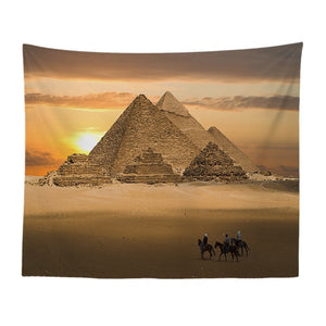 Ancient Ruins Tapestry