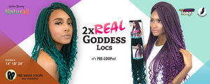 Urban Beauty 2x Real Goddess Locs
