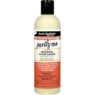 Aunt Jackie's Purify Me Moisturizing Co-Wash Cleanser (12 oz.)