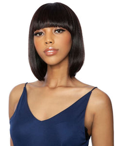 TRM104 - 11A FULL WIG - BRAZILIAN STRAIGHT 12""