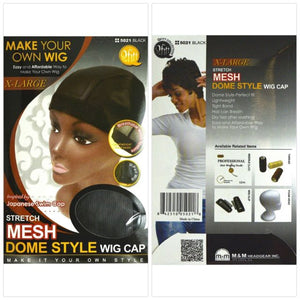 Qfitt X-Large Stretch Mesh Wig Cap