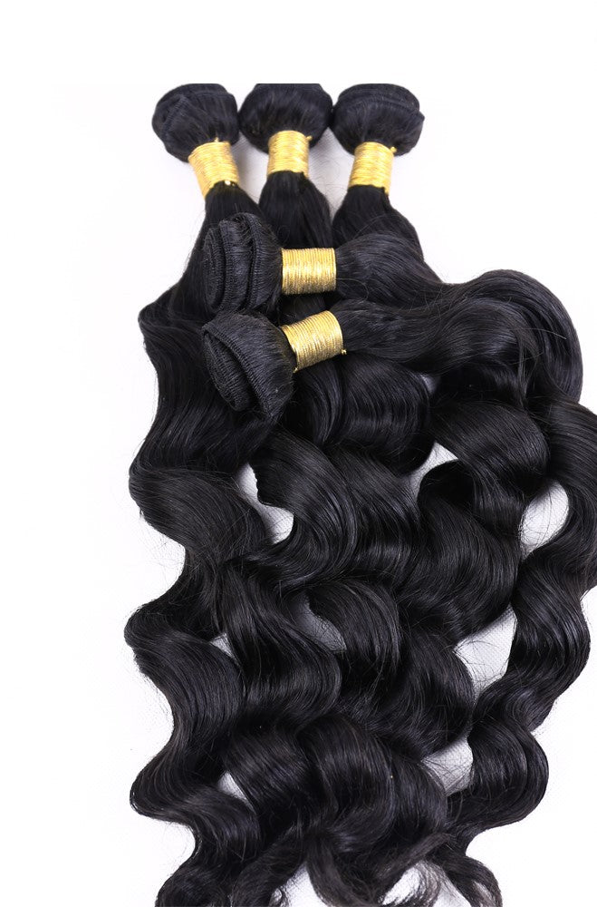 Loose Wave 100% Human Virgin Hair Bundles