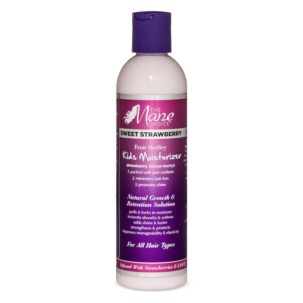 The Mane Choice Sweet Strawberry Kids Moisturizer 8 oz