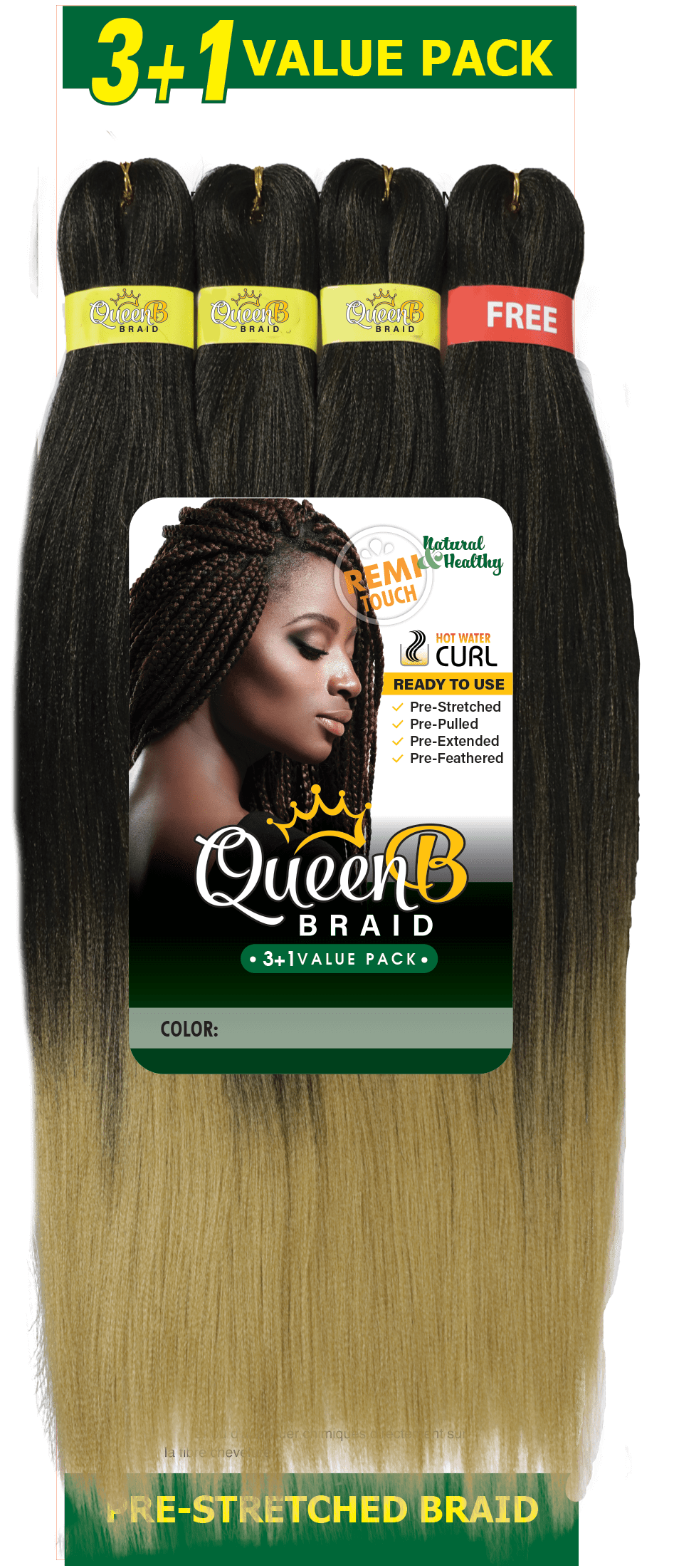 Queen B 3+1 Value Pack