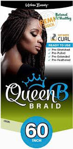 "Queen B 60"" Braid Hair"