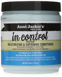 Aunt Jackie's in control moisturizing & softening conditioner 15 oz