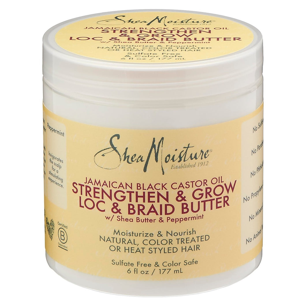 Shea Moisture Strengthen And Restore Loc And Braid Butter