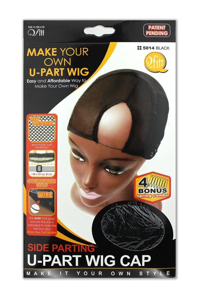 Side Parting U-Part Wig Cap