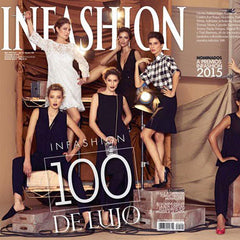 Revista infashion 100 de lujo Lina Hernandez Jewelry