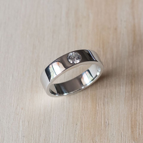 Roma Wedding Ring