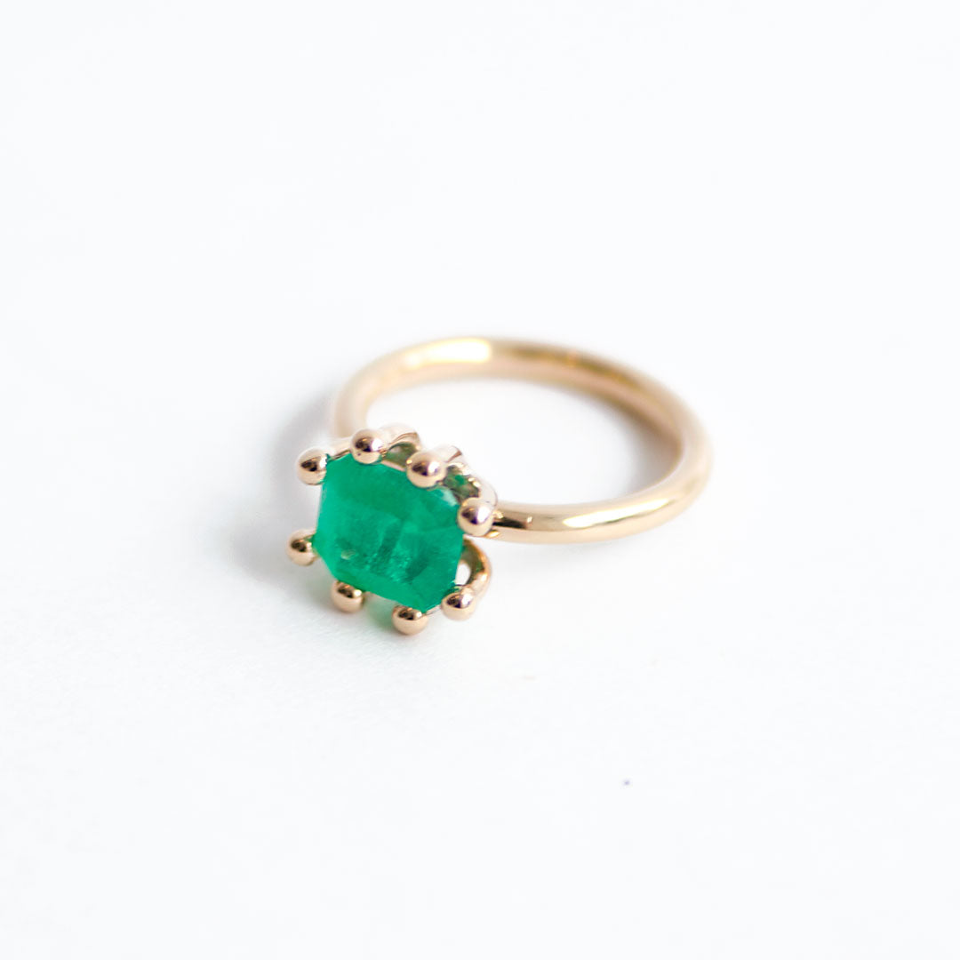 Paris Emerald Ring